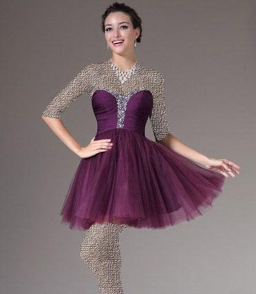 زیباترین مدل لباس مجلسی دامن حریر