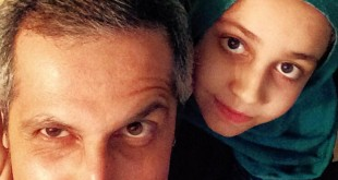 عکس / سلفی جواد رضویان و دخترش