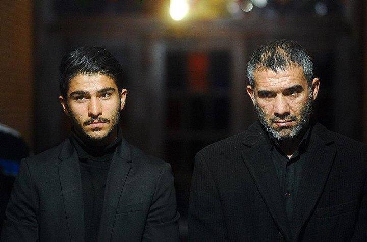 عکس / امیر عابدزاده و پدرش