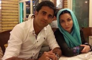عکس های جدید فقیهه سلطانی و همسرش