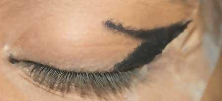 آموزش تصویری آرایش چشم عروس پاکستانی