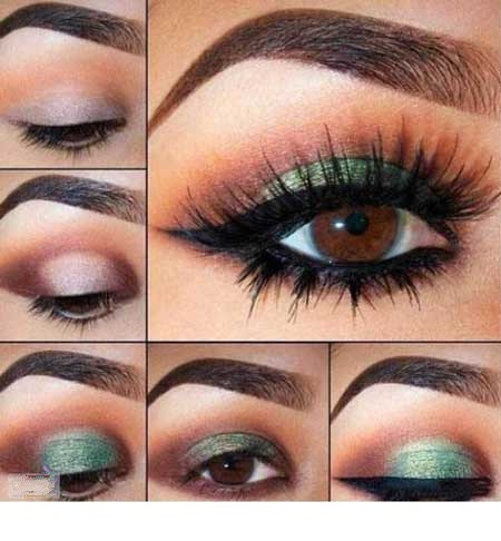 آموزش آرایش چشم (تصویری)