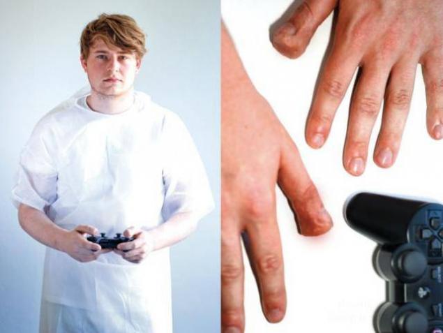بیماری های عجیب گیمرها +تصاویر