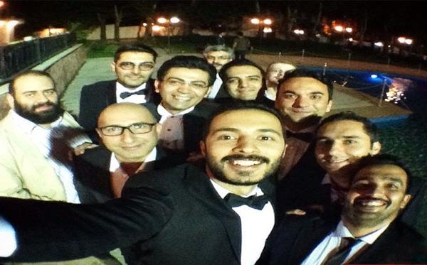 عکس های دیدنی از فرزاد حسنی در جشن عروسی برادرش