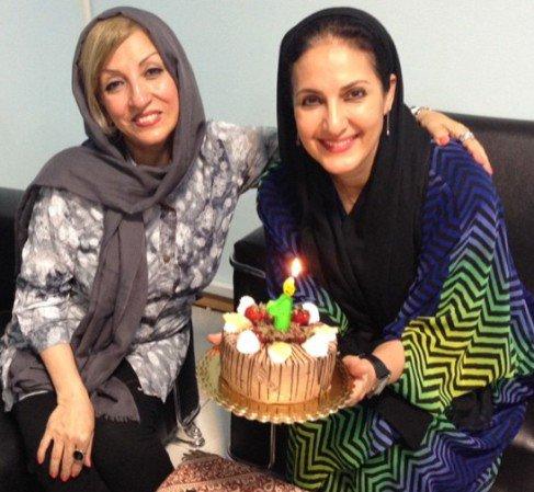 عکس های جشن تولد ۵۲ سالگی فاطمه گودرزی