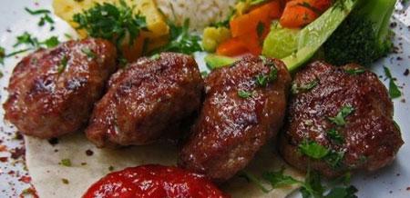 آموزش درست کردن گشنیز کباب (غذای آذری)