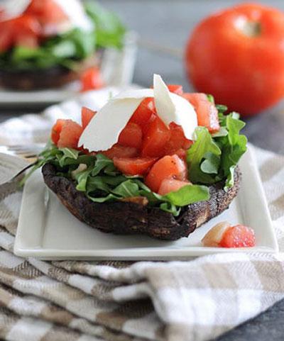 مدل تزیین جالب گوجه ویژه سفره های افطار