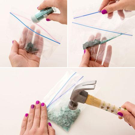 آموزش تصویری فانتزی کردن انگشترهای قدیمی