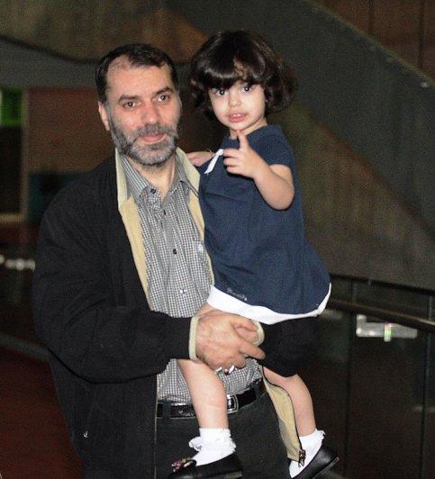 عکس / مسعود ده نمکی و دخترش