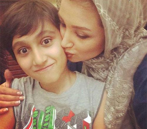 عکس / خواهرزاده روناک یونسی