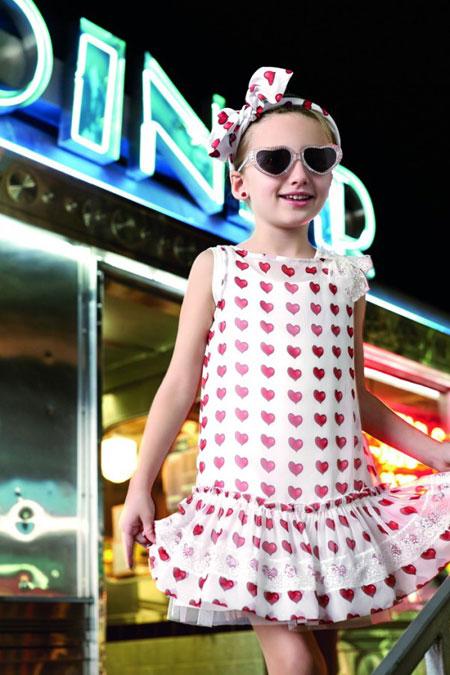 مدل لباس بچگانه از برند معروف مونالیزا