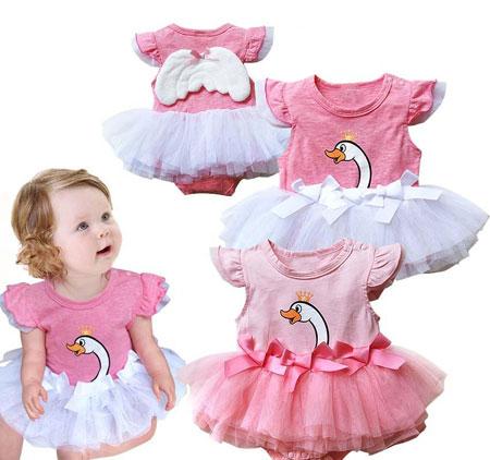 مدل لباس نوزادی دخترانه ویژه مجلس