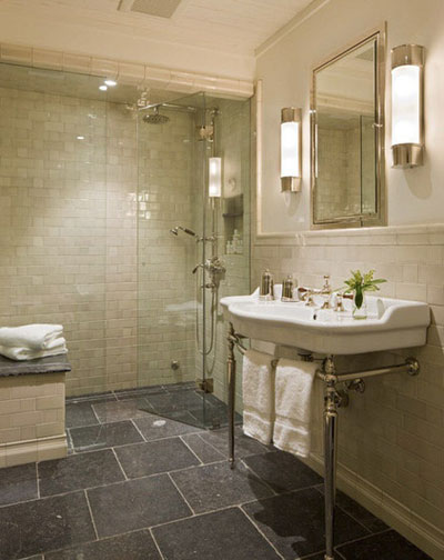 تاثیر سنگ بر زیبایی و شیکی حمام