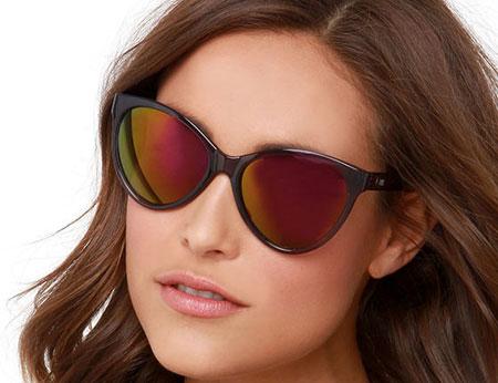 مدل عینک آفتابی فریم بزرگ دخترانه