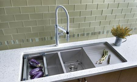 چگونه سینک آشپزخانه مناسب انتخاب کنیم؟