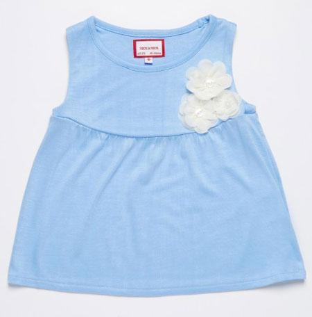 مدل لباس تابستانه نخی ویژه دختربچه ها