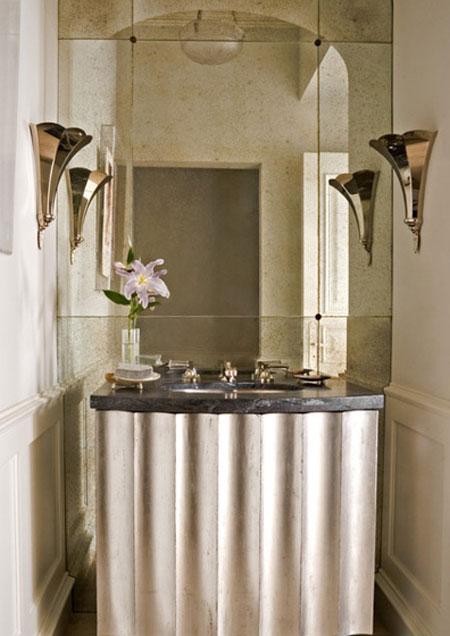 چگونه دیوار آینه ای درخشان داشته باشیم؟