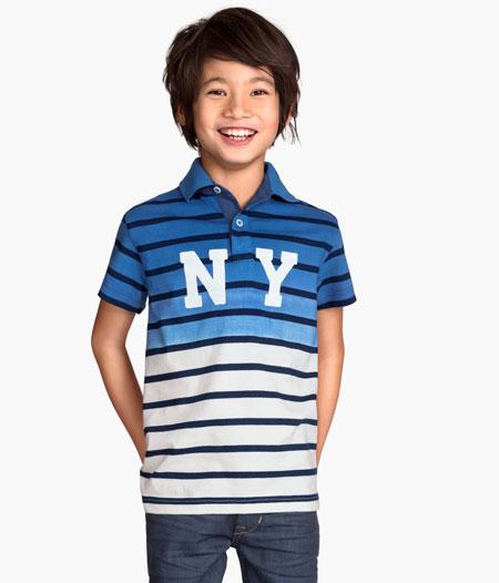 مدل شیک از تی شرت و پیراهن پسرانه