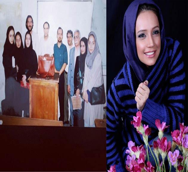 شبنم قلی خانی در دوران دانشجویی! / عکس