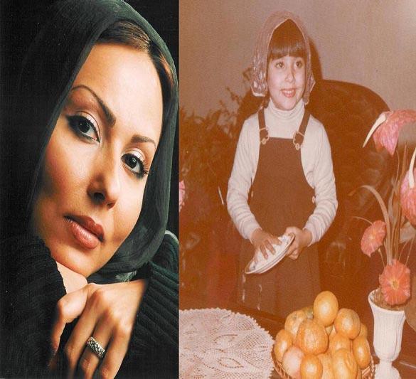 عکس کودکی پرستو صالحی! / عکس