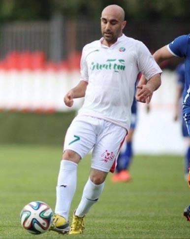 بازیگر مشهور ایرانی که عاشق فوتبال است! + عکس