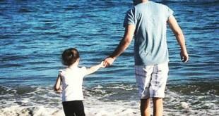 عکس / بنیامین و دخترش بارانا در سواحل آمریکا