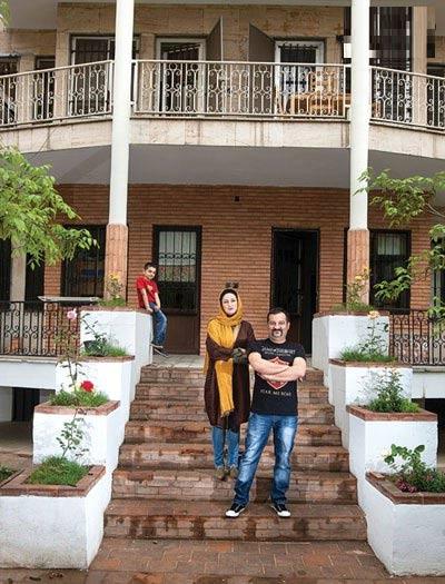دکوراسیون خانه مهراب قاسم خانی و همسرش! + تصاویر