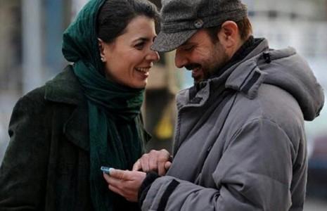 عکس جدید و متفاوت لیلا حاتمی و همسرش