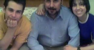 مجید قناد و فرزندانش / عکس