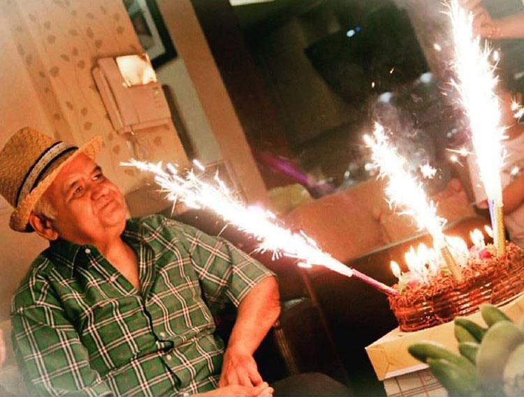 عکس / تولد ۵۴ سالگی اکبر عبدی