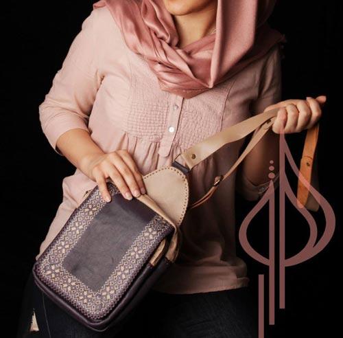 مدل شیک از کیف چرم زنانه برند هور