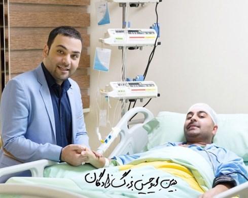 احسان علیخانی به عیادت بهنام صفوی رفت ! / عکس