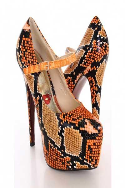 مدل های جدید کفش های پوست ماری زنانه