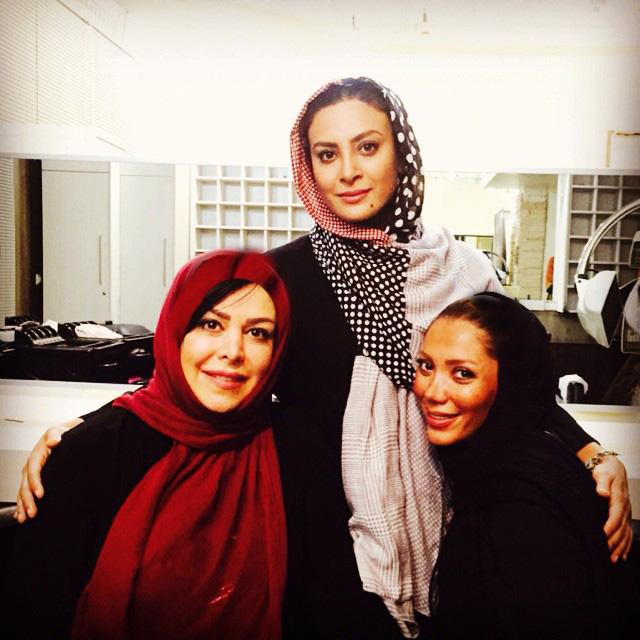 عکس جدید حدیثه تهرانی و فلور نظری