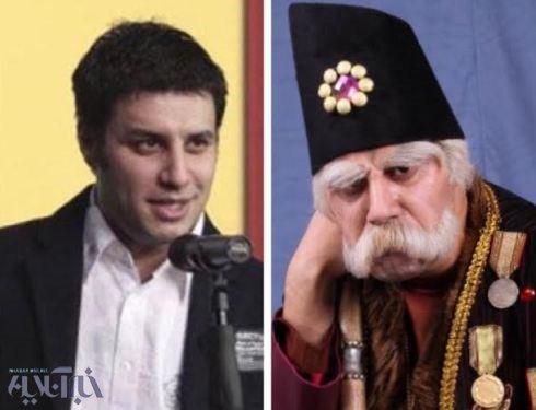 عکس / نظر جواد عزتی درباره بابا اتی