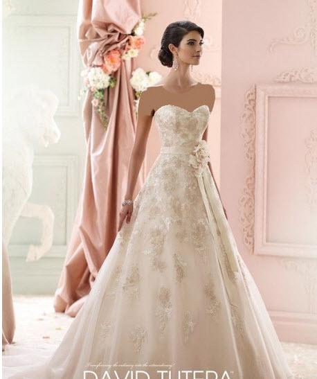 لباس عروس زیبا و جذاب پفی