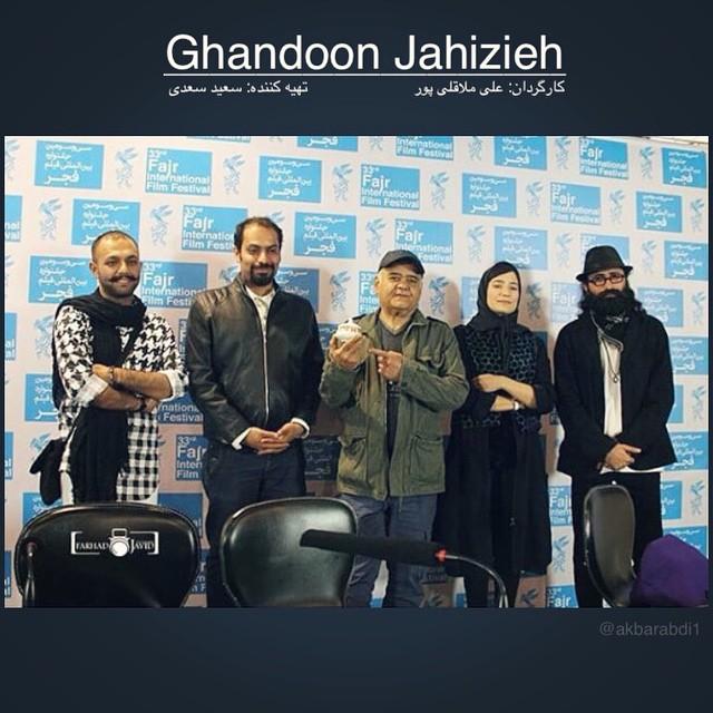اکبر عبدی در اکران فیلم سینمایى قندون جهیزیه + عکس