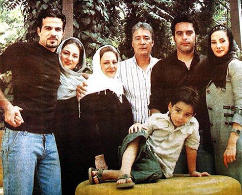عکس / خانواده ناصر حجازی در کنار هم