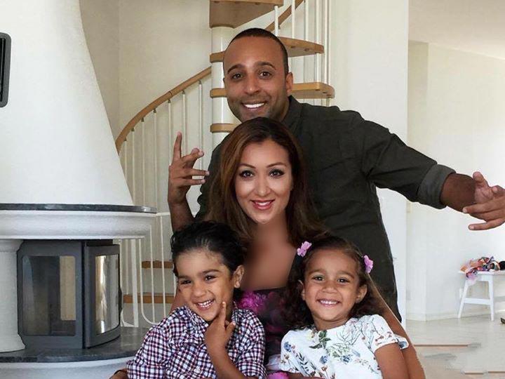 جدیدترین عکس خانوادگی آرش خواننده