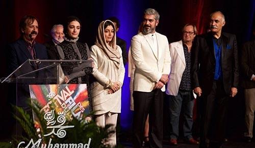 تصاویری از بازیگران فیلم محمد رسول الله در کانادا