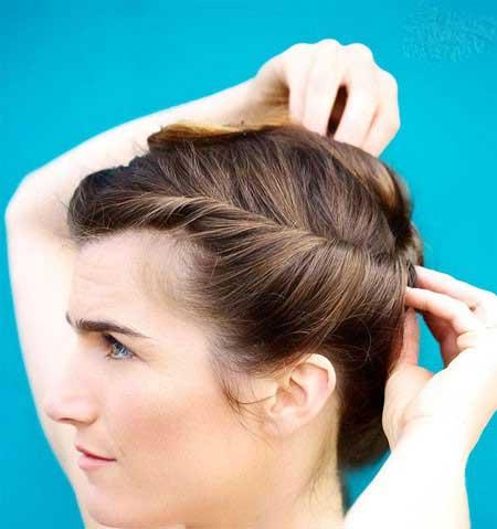 مدل کاملا متفاوت برای بستن مو