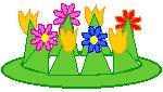 آموزش درست کردن تاج گل به بچه ها