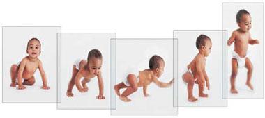 مراحل رشد کودک از یک ماهگی تا شش ماهگی