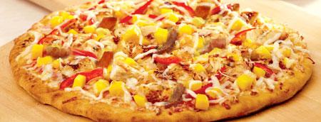 آموزش درست کردن پیتزای انبه