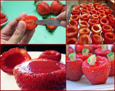چگونه میوه ژله ای درست کنیم؟