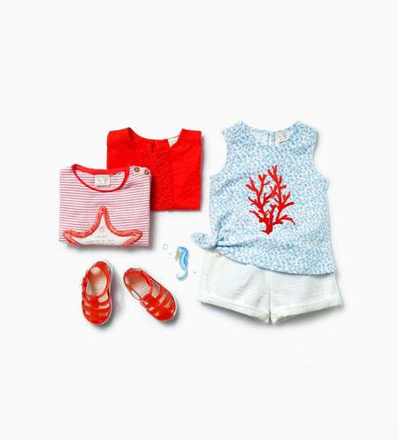 ست لباس نوزادی بسیار شیک برند زارا