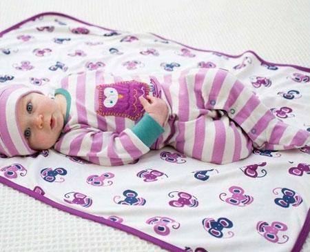مدل جذاب از لباس سرهمی نوزادی