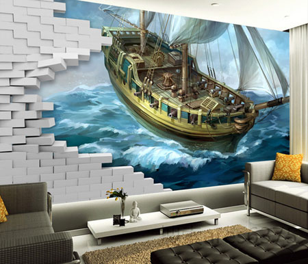 نحوه انتخاب کاغذ دیواری مناسب برای دیوار