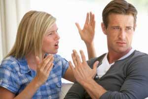 نحوه رفتار در زمان ناراحتی و دعوا با همسر