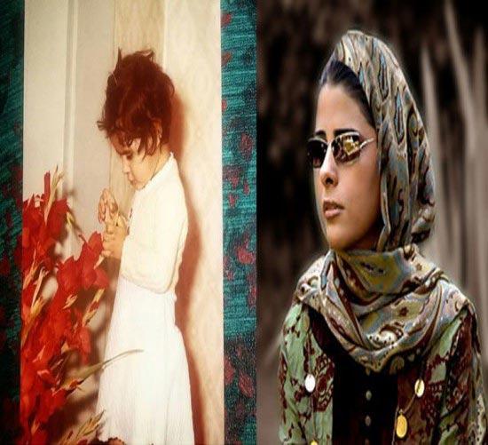 عکس جالب از کودکی مریم حیدرزاده